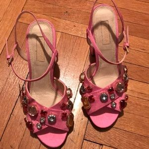 Pink Gem Shoes